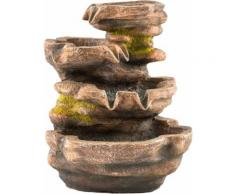 pajoma Zimmerbrunnen Cascade braun Deko-Objekte Figuren Skulpturen Wohnaccessoires