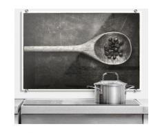 Wall-Art Küchenrückwand Spritzschutz Kochlöffel Küche bunt Küchenaccessoires Wohnaccessoires Spritzschutzwände