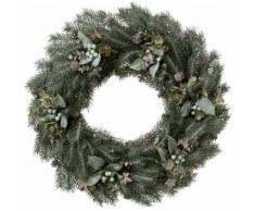 Dekokranz (1-tlg), grün, frost-grün