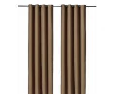 Weckbrodt Vorhang Vito, HxB: 245x140 braun Wohnzimmergardinen Gardinen nach Räumen Vorhänge