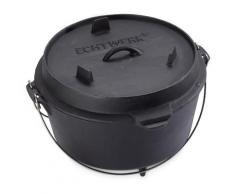 ECHTWERK Schmortopf Dutch Oven (1-tlg.) schwarz Schmortöpfe Töpfe Haushaltswaren Topf
