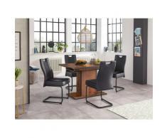 HELA Essgruppe (Set, 5-tlg) schwarz Essgruppen Tische Sitzmöbel-Sets