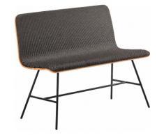 Mayer Sitzmöbel Polsterbank Bank myTILDA, klare, schnörkellose Linienführung grau Polsterbänke Sitzbänke Stühle