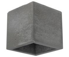 SPOT Light Wandleuchte BLOCK, G9, Naturprodukt aus echtem Beton, Handgefertigt, Made in EU grau Wandleuchten Lampen Leuchten sofort lieferbar