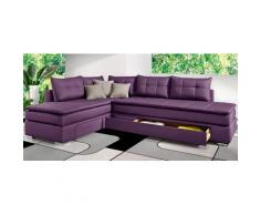 INOSIGN Ecksofa Night & Day, lila, lila