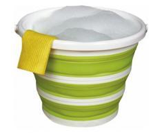 Think@home Falteimer grün Putz- und Reinigungszubehör Reinigung Haushaltswaren Eimer