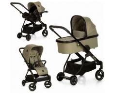 iCoo Kombi-Kinderwagen Acrobat XL Plus Trio Set Diamond Olive grün Kinder Kombikinderwagen Kinderwagen Buggies