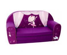Knorrtoys Sofa NICI Miniclara, für Kinder; Made in Europe lila Kinder Kindersessel Kindersofas Kindermöbel