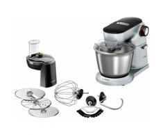BOSCH Küchenmaschine OptiMUM MUM9D33S11, 1300 Watt, Schüssel 5,5 Liter silberfarben Multifunktionsküchenmaschinen Küchenmaschinen Haushaltsgeräte ohne Kochfunktion