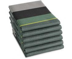 DDDDD Geschirrtuch Rico, (Set, 6 tlg.) grün Geschirrtücher Küchenhelfer Haushaltswaren