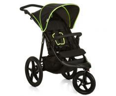 hauck FUN FOR KIDS Dreirad Kinderwagen, »Runner Black/Neon Yellow«, schwarz, Unisex, Black/Neon Yellow