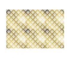 queence Getränkeuntersetzer GC0149, (Set, 6 tlg.), aus Acrylglas goldfarben Untersetzer Küchenhelfer Haushaltswaren
