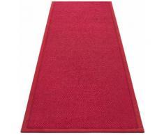 Läufer, Franco, my home, rechteckig, Höhe 5 mm, maschinell gewebt rot Teppichläufer Läufer Bettumrandungen Teppiche