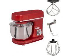 Gutfels Küchenmaschine KM 8102 roi, 1200 Watt, Schüssel 5 Liter rot Multifunktionsküchenmaschinen Küchenmaschinen Haushaltsgeräte ohne Kochfunktion