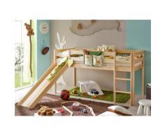 Ticaa Hochbett Manuel beige Kinder Hochbetten Kinderbetten Betten
