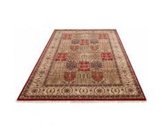 Orientteppich, Irrfan, DELAVITA, rechteckig, Höhe 12 mm, manuell geknüpft beige Fransenteppiche Teppiche