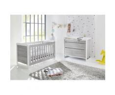 Pinolino Babymöbel-Set Curve (Spar-Set, 2-tlg) weiß Baby Baby-Möbel-Sets Babymöbel Schlafzimmermöbel-Sets