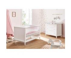 Pinolino Babyzimmer-Set (2-tlg.), Sparset, »Hope, breit«, weiß, Neutral, weiß