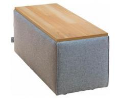 TOM TAILOR Tischelement ELEMENTS, Tischplatte in Buche natur, als Couchtisch oder Sofaelement einsetzbar grau Sofas Couches Möbel sofort lieferbar