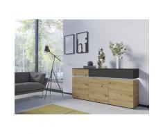 INOSIGN Sideboard Luci, Breite 180, 5 cm braun Sideboards Kommoden