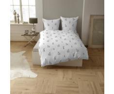 CASATEX Bettwäsche Osterhase, mit witzigen Hasen weiß Bettwäsche-Sets Bettwäsche, Bettlaken und Betttücher