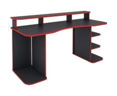 byLIVING Gamingtisch Finn, Breite 160 cm grau Kinder Gaming-Tisch Kinderschreibtische Bürotische und Schreibtische Büromöbel