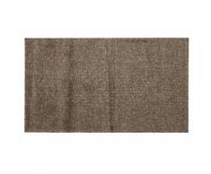 Fußmatte uni randlos 5 Gr grau Fußmatten einfarbig