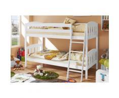 Ticaa Etagenbett Erni weiß Kinder Kinderbetten Kindermöbel