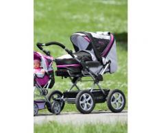 CHIC4BABY Kombi-Kinderwagen Viva schwarz Ab Geburt Altersempfehlung Kinderwagen