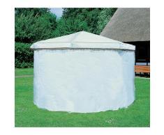 promadino Pavillon-Schutzhülle, für Pavillon Rosenheim, weiß Zubehör Pavillons Gartenmöbel Gartendeko Pavillon-Schutzhülle