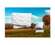 Dunlopillo Microfaserbettdecke Home, normal, (1 St.) weiß Allergiker Bettdecke Bettdecken Bettdecken, Kopfkissen Unterbetten