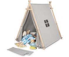 Pinolino Spielzelt Noah, grau Kinder Spieltunnel Outdoor-Spielzeug