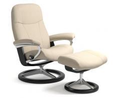Stressless Relaxsessel Garda, mit Signature Base, Größe M, Gestell Schwarz beige Sessel