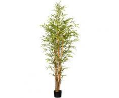 Creativ green Kunstbaum Bambus (1 Stück) grün Kunstbäume Kunstpflanzen Wohnaccessoires