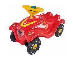 BIG Rutscherauto BIG-Bobby-Car-Classic Feuerwehr, Made in Germany; mit Licht- und Soundmodul rot Kinder Ab 12 Monaten Altersempfehlung