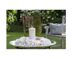Fink Kunstkranz HORTENSIE, Blumenkranz, in Handarbeit gefertigt, verschiedenen Größen erhältlich weiß Kunstkränze Kunstpflanzen Wohnaccessoires