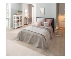 Home affaire Tagesdecke Cremona, auch als Tischdecke und Sofaüberwurf einsetzbar rosa Baumwolldecken Decken