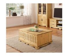 Home affaire Couchtisch Trinidad, Breite 120 cm beige Truhen-Couchtische Couchtische Tische Tisch