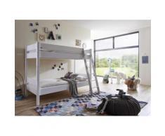 Relita Etagenbett, mit Rollrost, umbaufähig zu 2 Einzelbetten weiß Kinder Kindermöbel Nachhaltige Möbel Etagenbett