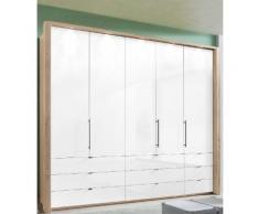 WIEMANN Panorama-Falttürenschrank »Loft« mit Glasfront in 3 Breiten, Breite 250 cm