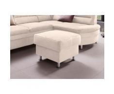 Places of Style Hocker Cardoso, mit Stauraum, passend zur Serie beige Möbel Aufbauservice