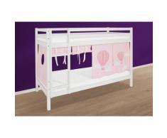 Hoppekids Etagenbett Ballon rosa Kinder Kindermöbel Nachhaltige Möbel