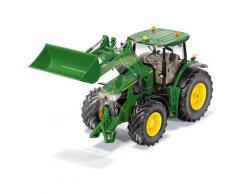 Siku RC-Traktor SIKU Control, John Deere 7310R mit Frontlader, inkl. Bluetooth App-Steuerung grün Kinder Ab 3-5 Jahren Altersempfehlung