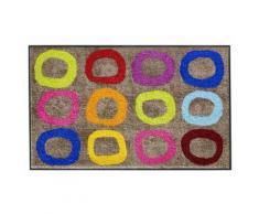 FußmattePreisstarCOL CIRCLE bunt Fußmatten gemustert