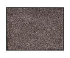 Home affaire Fußmatte Noyack, rechteckig, 7 mm Höhe braun Designer Fußmatten