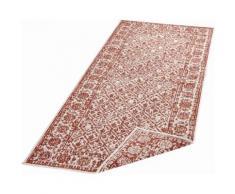 bougari Läufer Curacao, rechteckig, 5 mm Höhe, In- und Outdoor geeignet, Wendeteppich braun Teppichläufer Bettumrandungen Teppiche