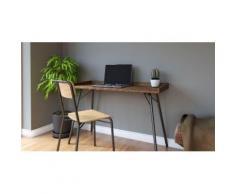 Woodman Schreibtisch Rayburn beige Schreibtische Bürotische und Büromöbel Tisch