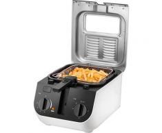 Unold Fritteuse Design 58625, 2000 Watt, Fassungsvermögen 2,5 Liter weiß Haushaltsgeräte Elektrogeräte