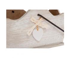 Myflair Möbel & Accessoires Dekokorb Heinfried, Holz weiß Körbe Aufbewahrung Ordnung Wohnaccessoires