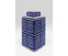 KARE Dekoobjekt Mosaico Square blau Deko-Objekte Figuren Skulpturen Wohnaccessoires